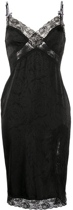 Versace Lace Detail Dress