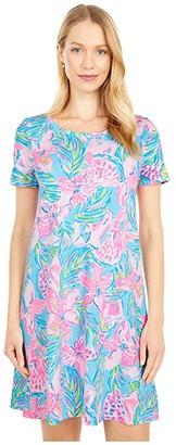 Lilly Pulitzer Cody Dress (Blue Ibiza Gimme The Juice) Women's Dress