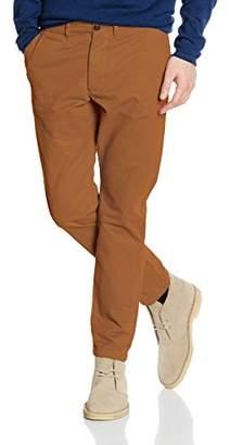 Jack and Jones Men's JJICODY JJGRAHAM AKM 201 Dark Camel NOOS Trouser, Brown, (Size: 38)
