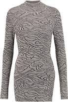 By Malene Birger Bellisas ribbed intarsia-knit turtleneck sweater