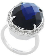 Cole Haan Large Faceted Oval Bezel Ring