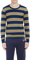 Visvim Men's Block Stripe Long-Sleeve T-Shirt-BLUE