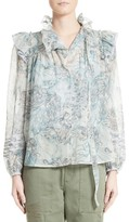 Marc Jacobs Women's Nymph Ruffle Blouse