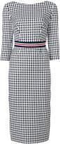 P.A.R.O.S.H. gingham-print dress