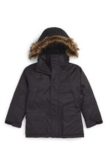 The North Face Boy's 'Mcmurdo' Waterproof Down Parka With Faux Fur Trim