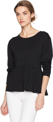 Max Studio Women's Soft French Terry Sweater