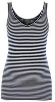 Topshop MATERNITY Stripe Ribbed Vest