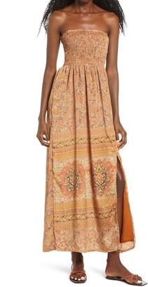 Raga Nidhi Strapless Maxi Dress