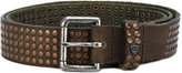 Htc Hollywood Trading Company - Cintura belt - unisex - Leather - 85