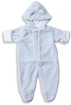 Angel Dear Infant Boys' Fuzzy Footie - Sizes 0-3 Months