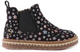 Ocra Suede Star Zip-Up Boots