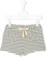 Babe And Tess - striped shorts - kids - Cotton - 4 yrs