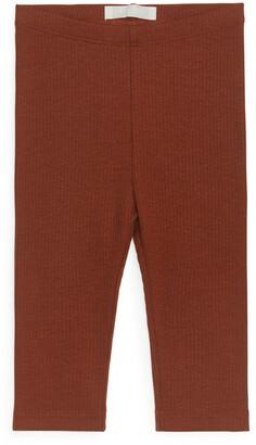 Arket Cotton Lyocell Leggings
