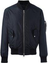 Ami Alexandre Mattiussi zipped bomber jacket - men - Polyamide - L