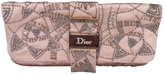 Christian Dior Pink Silk Clutch bag