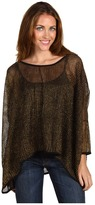 Type Z Bellisa Glissen Poncho (Black/Gold) - Apparel