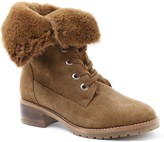 Kensie Lace-Up Suede Combat Boots - Kylin-A