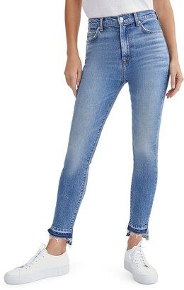Seven London High Waist Ankle Skinny Jeans