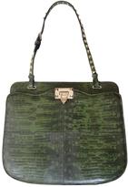 Valentino Green Exotic leathers Handbag