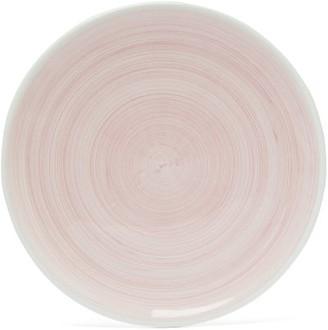 Summerill & Bishop - Brushed Ceramic Dinner Plate - Light Pink