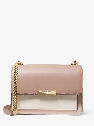 MICHAEL Michael Kors Jade Large Tri-Color Leather Crossbody Bag