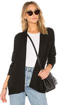 Stateside Viscose Fleece Cardigan in Black. - size L (also in M,S,XS)