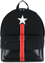 Givenchy star and stripe print backpack