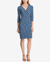 American Living Geo-Print Jersey Dress