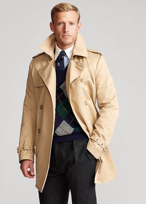Ralph Lauren Stretch Chino Trench Coat