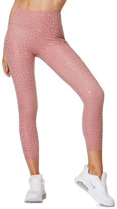 L'URV Allure Leopard 7/8 Leggings Dusty