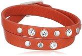 Pilgrim Jewelry Women's Bracelet Silver-Plated orange Summer 291323032 40 CM