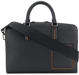Ermenegildo Zegna Grained Leather Slim Briefcase