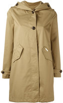 Woolrich hooded trench coat