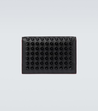Christian Louboutin M Sifnos cardholder with spikes