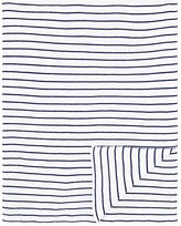 Paz Rodriguez Striped Cotton Blanket