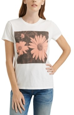 Lucky Brand Daisy Graphic T-Shirt