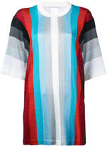 Marco De Vincenzo striped short sleeve jumper