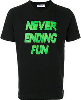 Tim Coppens printed slogan T-shirt