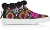 Joshua Sanders Namibia Multicolor Fabric High Top Sneaker