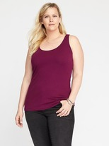 Old Navy First-Layer Fitted Plus-Size Tank