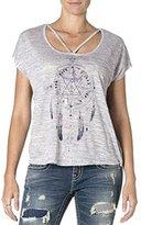Miss Me Women's Dreamcatcher Short Sleeve Top