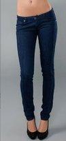 Royal Navy with Pleats Skinny Jean