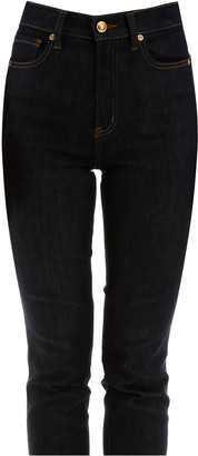 Tory Burch Jeans With Embroidered Logo