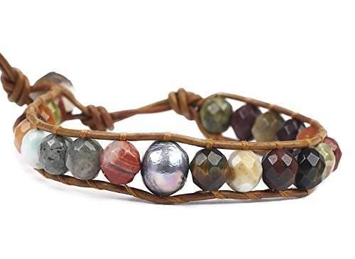 EverReena Beads Charm Elsas Sky Blue Color Murano Glass for Silver Bracelets
