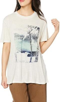 Volcom All Day Vacay Tee (Bone) Women's T Shirt