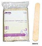 "DUKAL Reflections Wax-Body Treatment Applicator Sticks (3/4""Width x 6""Length) - 100 count"
