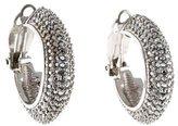St. John Crystal Hoop Earrings