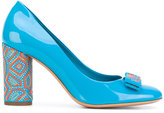 Salvatore Ferragamo Vara bow pumps - women - Leather/Patent Leather - 36