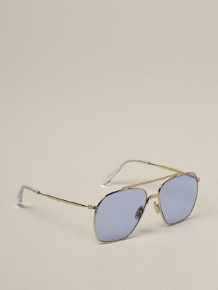 Acne Studios Metal Sunglasses With Double Bridge