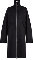 Marques Almeida MARQUES'ALMEIDA High-neck wool-blend coat
